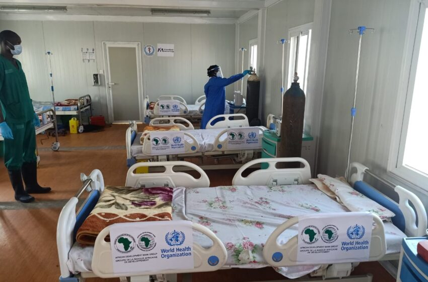 African Development Bank and WHO enhance COVID-19 case management in South Sudan