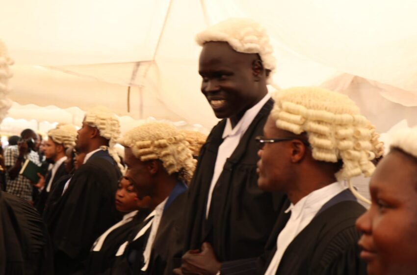 WE FEATURE A PROMINENT SOUTH SUDANESE LAWYER