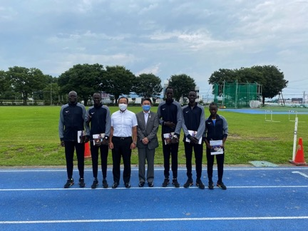 South Sudanese athletes upbeat ahead of Tokyo Olympics