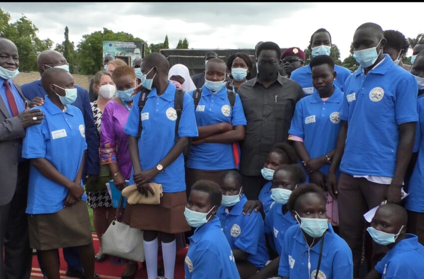 Schools reopen in South Sudan after more than a year closure