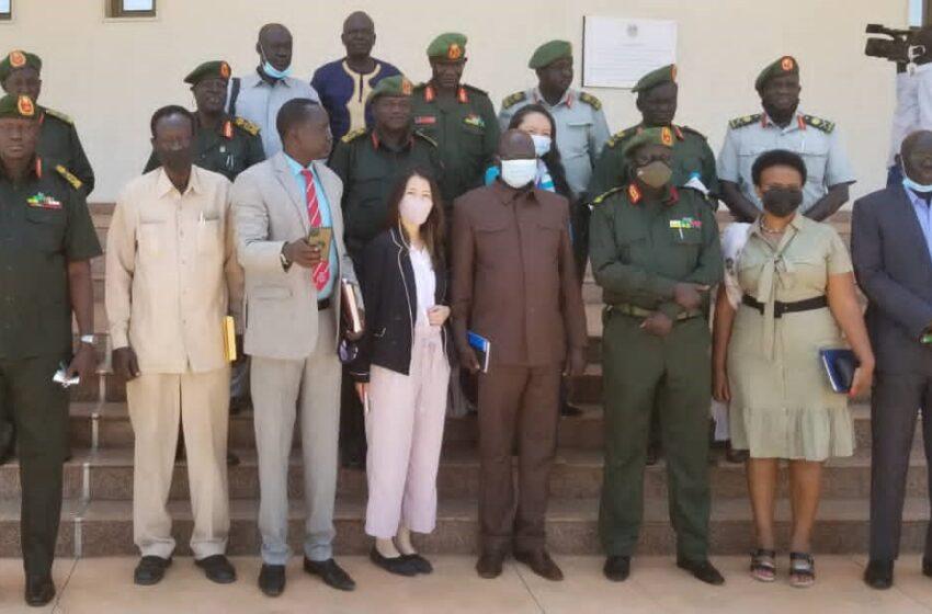 South Sudan's Army Commanders Sensitized on Disarmament