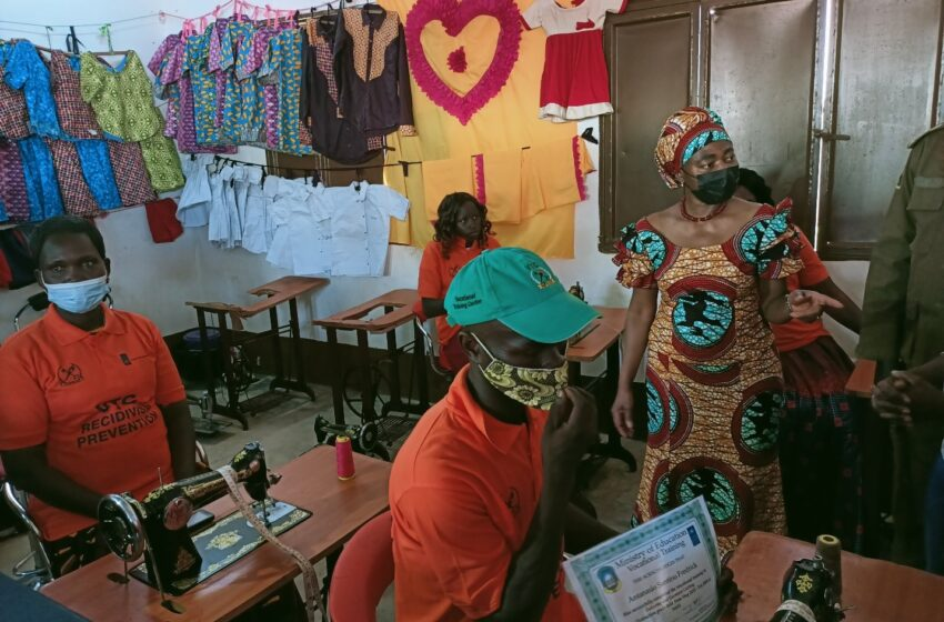 South Sudanese Juvenile Delinquents Reshape Future with Business Skills