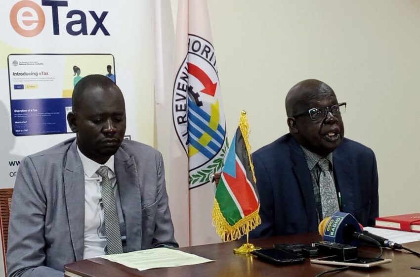 South Sudan Revenue Authority Launches E-Tax System