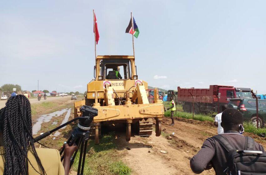 South Sudan Rehabilitates Juba-Nimule Thoroughfare At 100M Euro