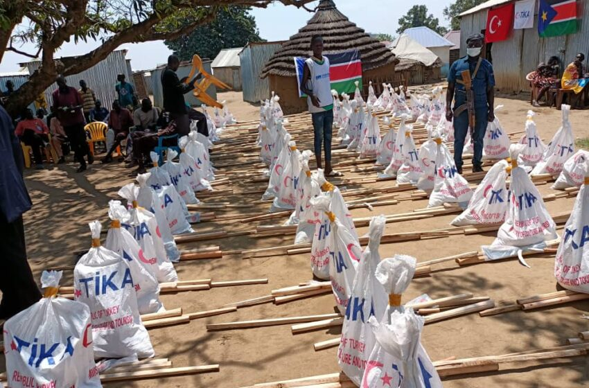 Turkey Provides Agriculture Kits For Farmers in South Sudan