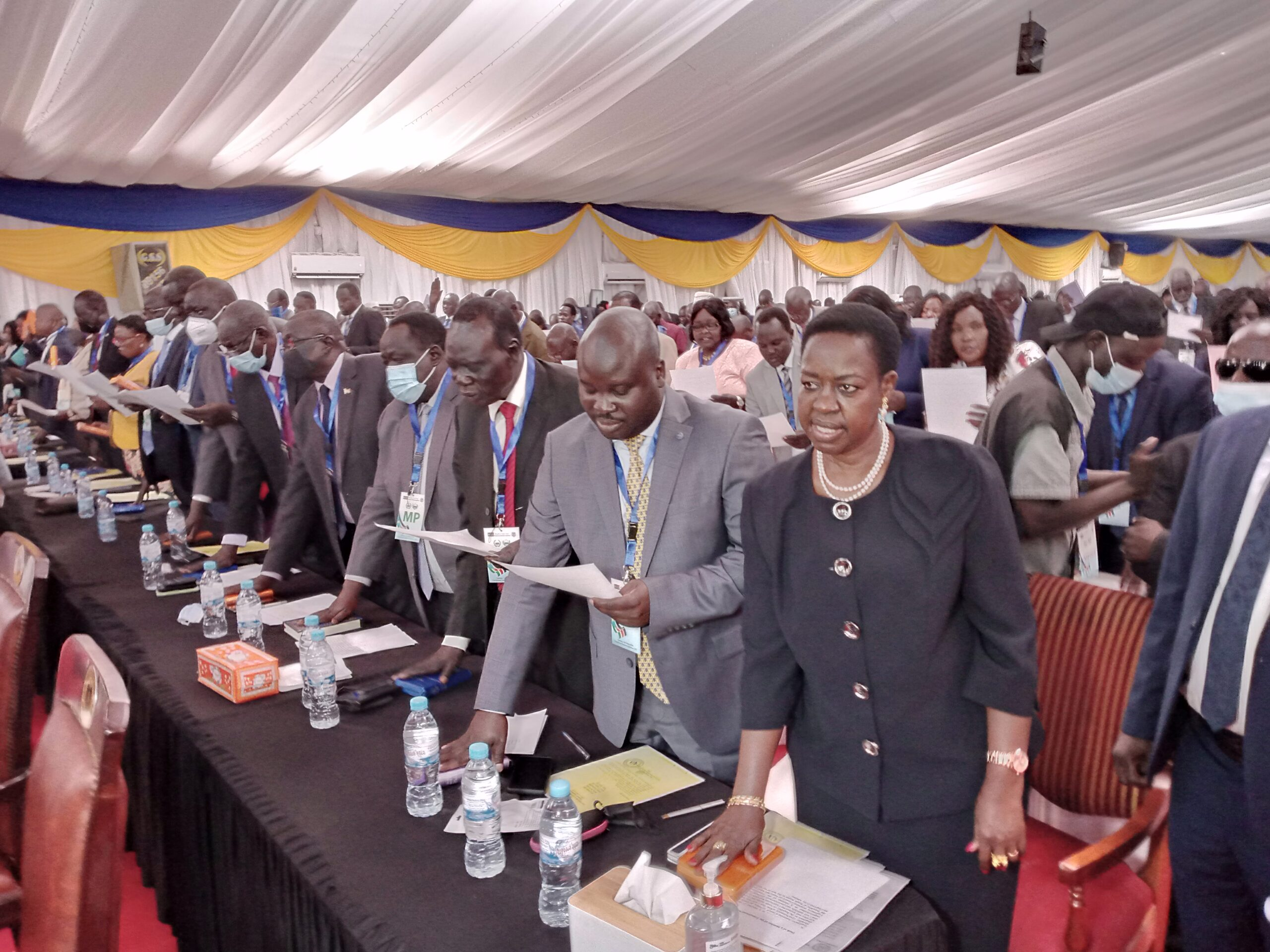 UN mission welcomes swearing-in of South Sudan parliament